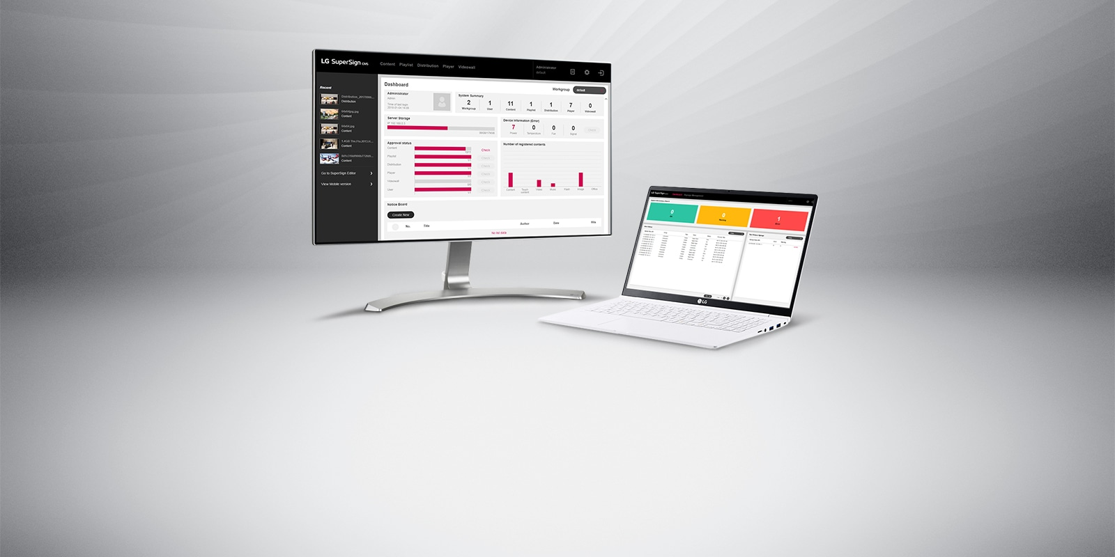 LG SuperSign Software | Software | Information Display | Business