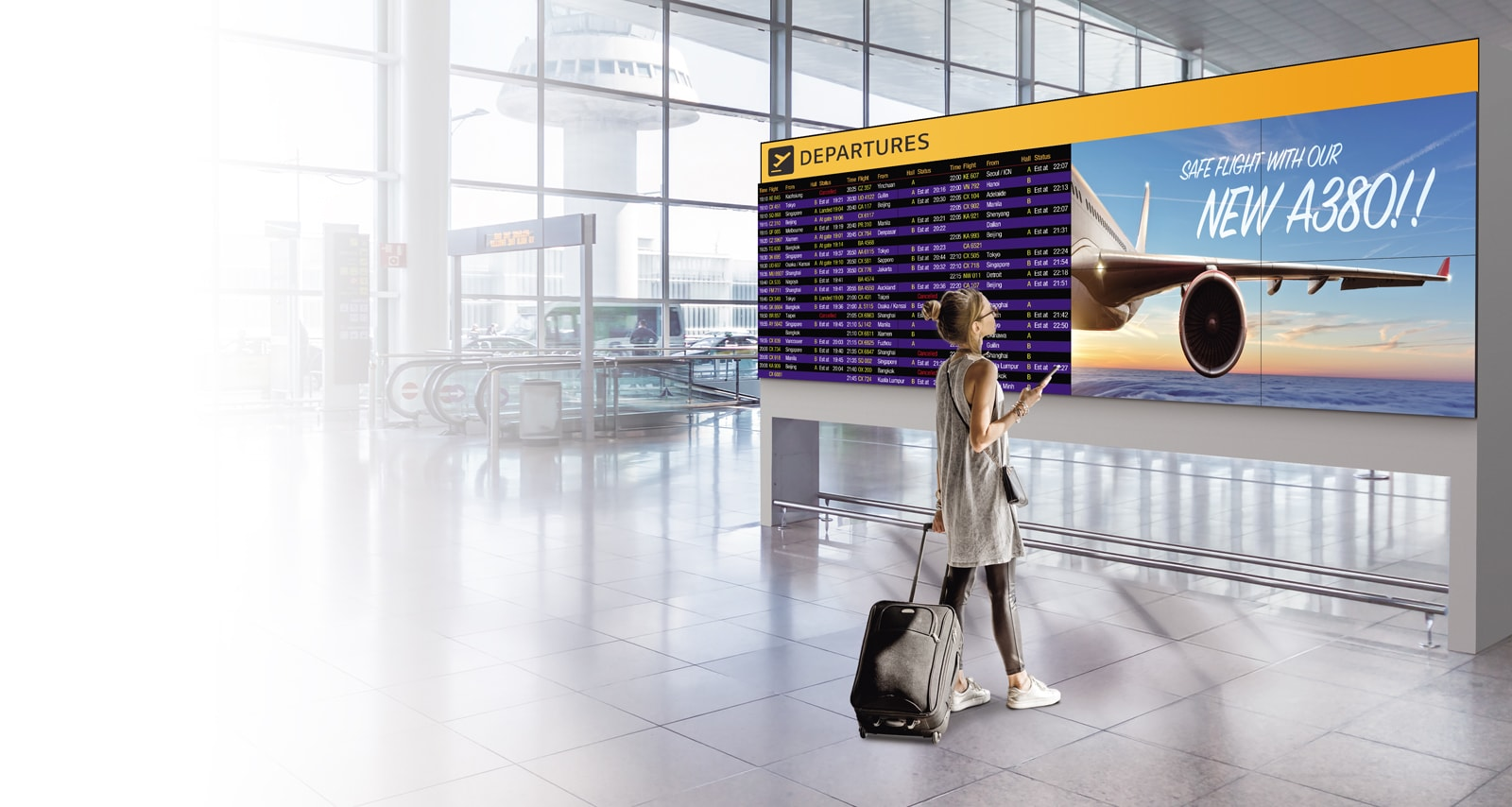 ID-Digital Signage-Video Wall-49VL7F-01-Incredible Immersion with Ultra-Narrow Bezel_1558586352861