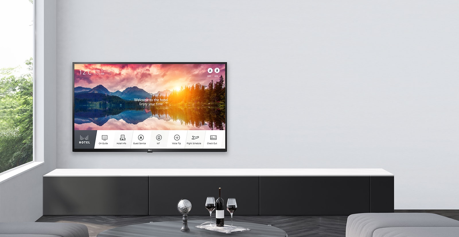 LG Smart Hotel TV with Effective Content Management
