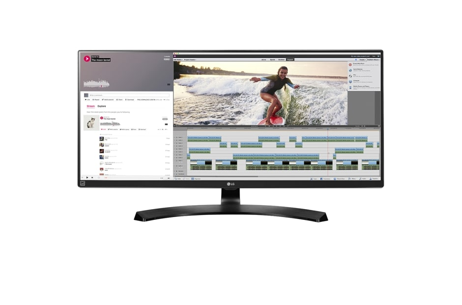 34UM88-P | UltraWide™ | Products | Monitor | Business | LG