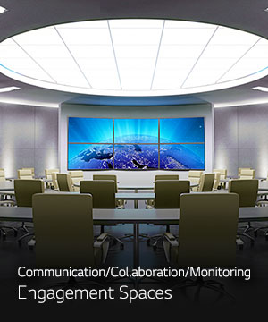 Communication / Collaboration / Monitoring - Engagement Spaces