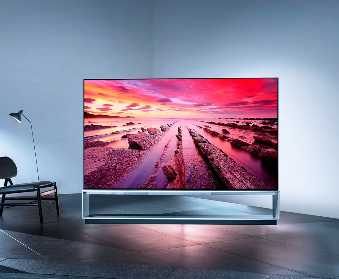 Image of the largest OLED TV in existence