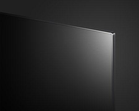 Close shot of LG SIGNATURE OLED TV Z9's screen edge