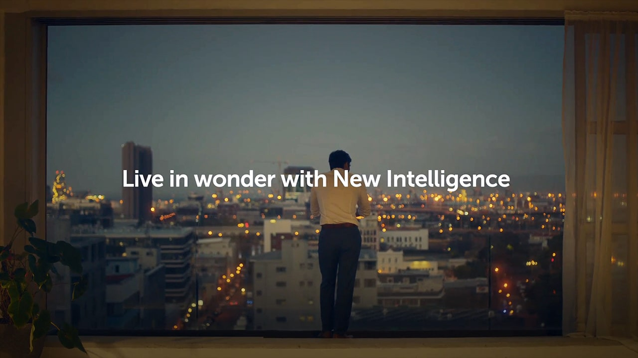 Live in wonder with New Intelligence