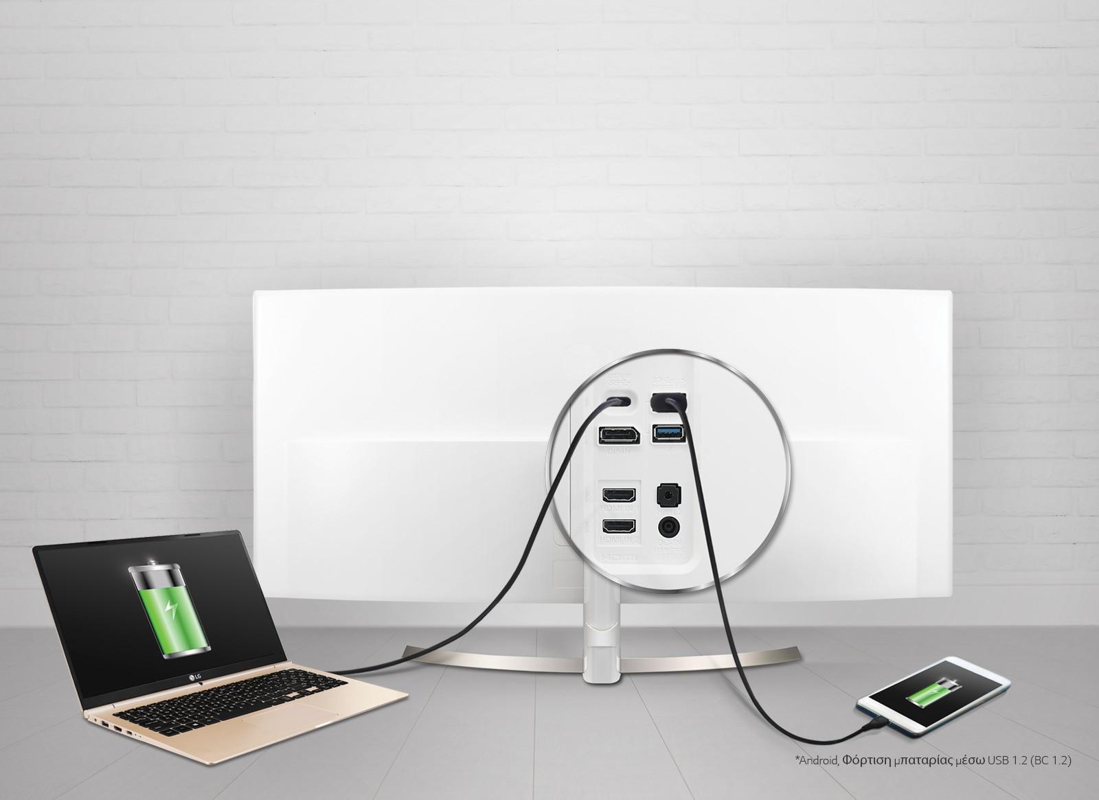 USB Type-C™ & ταχεία φόρτιση μέσω USB 3.0