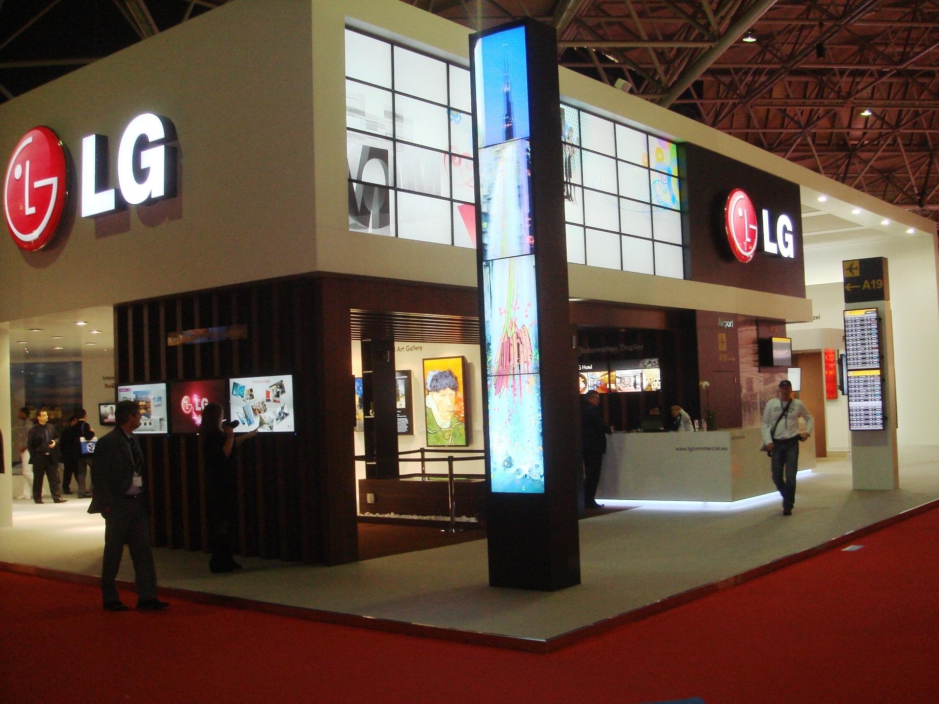Πρωτοποριακές λύσεις Digital signage και πληθώρα καινοτόμων προϊόντων από  την LG στην Integrated Systems Europe 2011 9edf48964cd