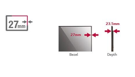 多點觸控功能連纖薄邊框