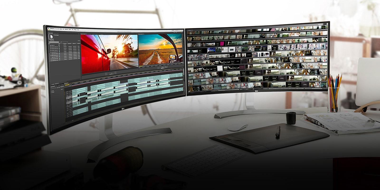 21:9 UltraWide® Monitors: LG Curved Gaming LED Monitors ...