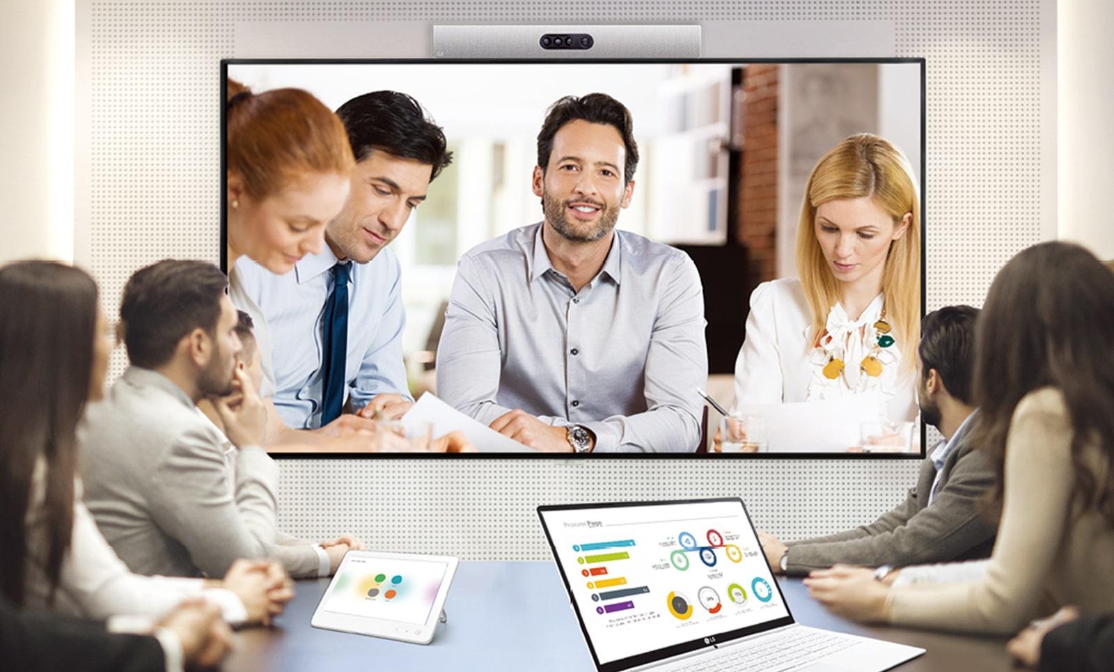 Compatible con el sistema de videoconferencia.