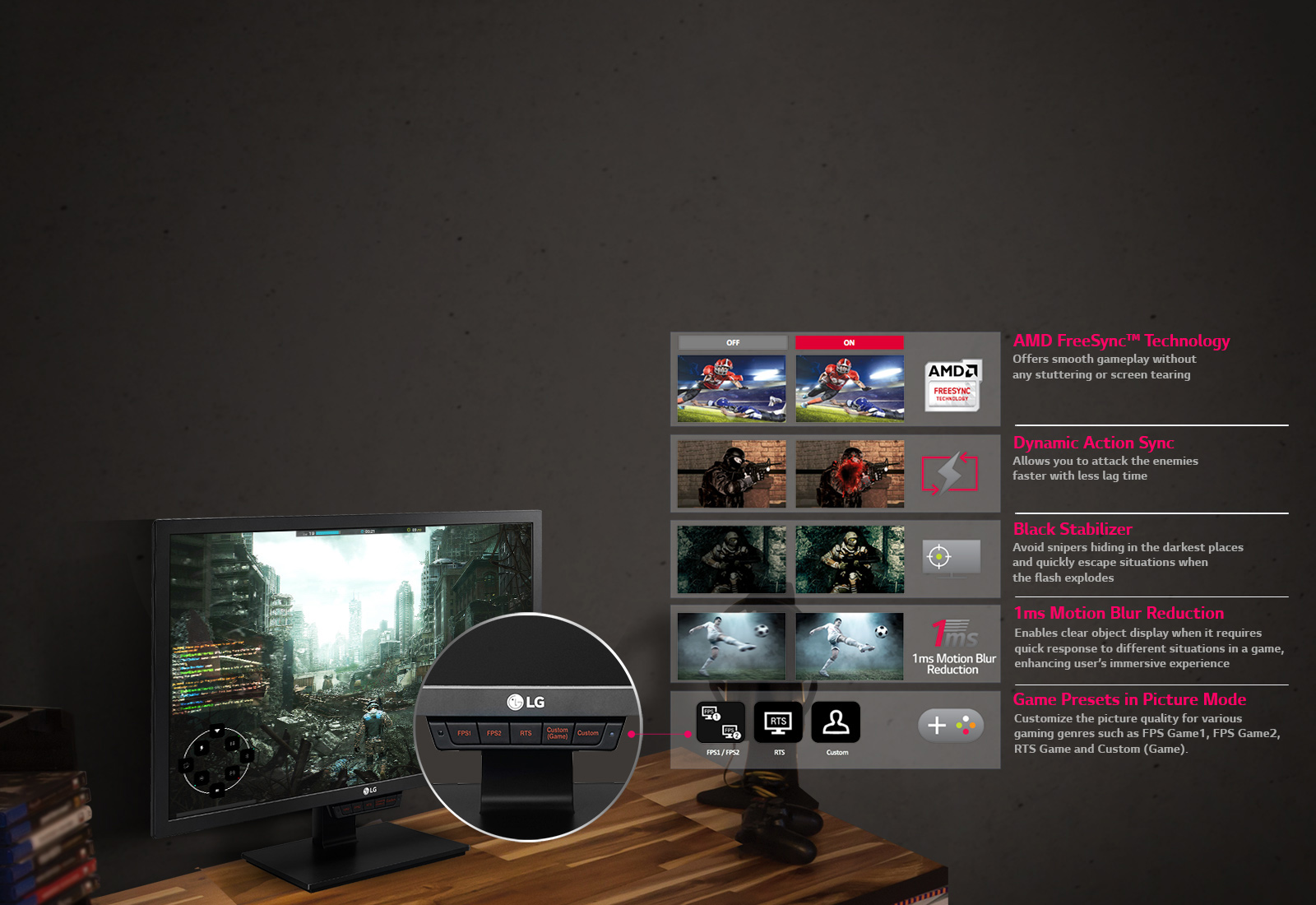 LG 24GM79G   24 Inch Gaming Monitor   LG HK