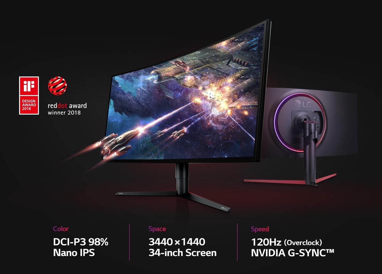 LG 34GK950G | 34 Inch Gaming Monitor | LG HK
