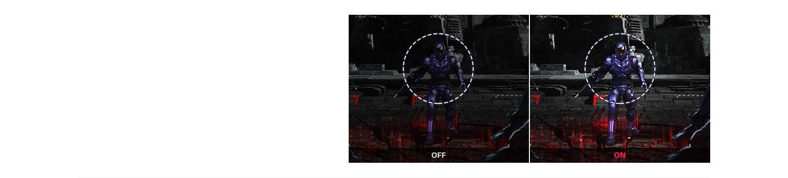 simulacija črnega stabilizatorja