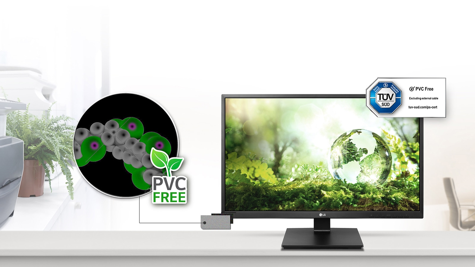 PVC-Free: No Noxious Materials1