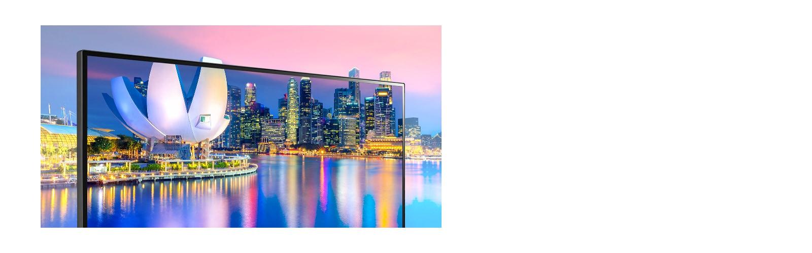 IPS con sRGB 99% (típico): colores reales y vista amplia