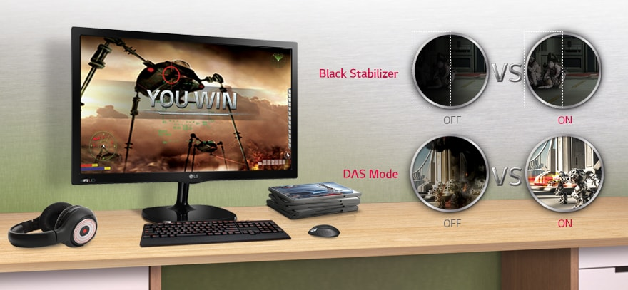 Black Stabilizer & DAS (Dynamic Action Sync) Mode