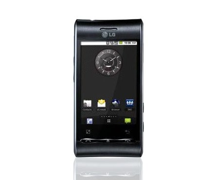 lg first android phone with beauty design lg hong kong rh lg com LG D680 Sprint LG Optimus S