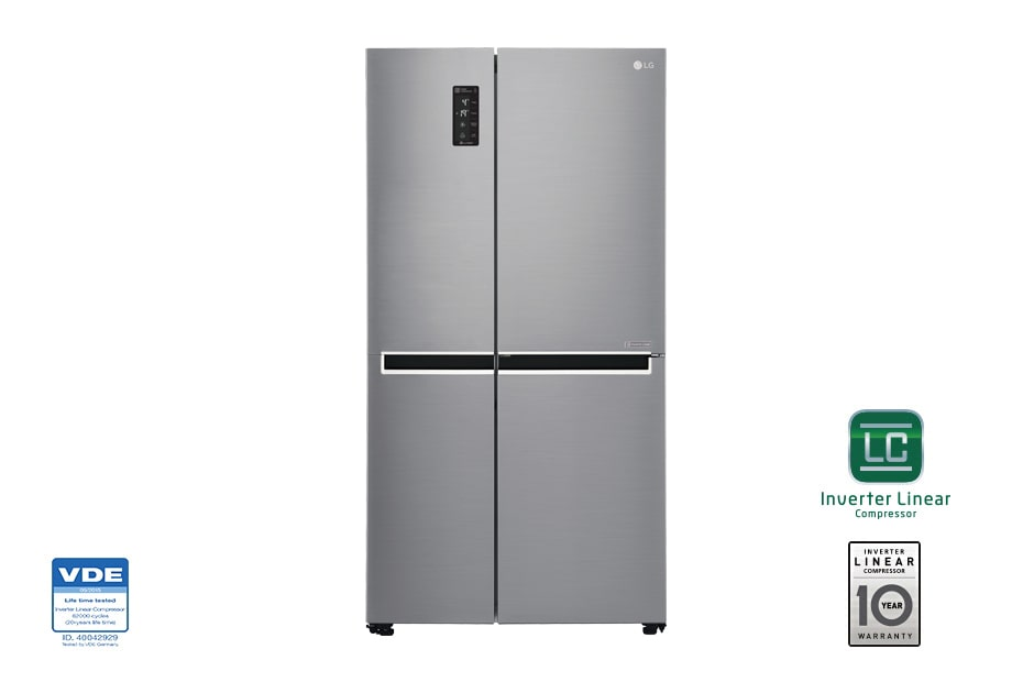 Lg 626l Side By Side Refrigerator With Inverter Linear Manual Guide