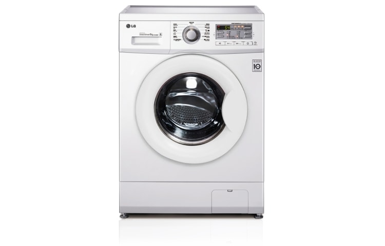 Lg 6kg front loading washing machine 10 year warranty for for Lg washing machine motor price