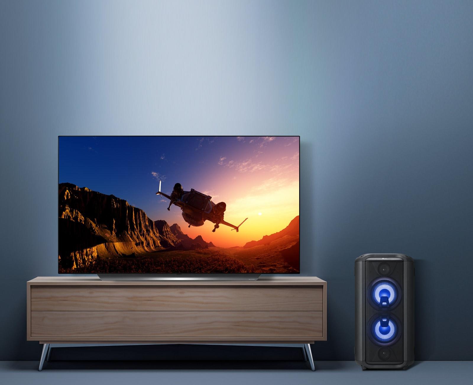 Povečajte glasnost na televizorju1