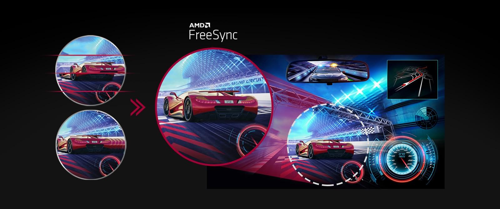 AMD FreeSync™: Jasnija, besprijekorna slika
