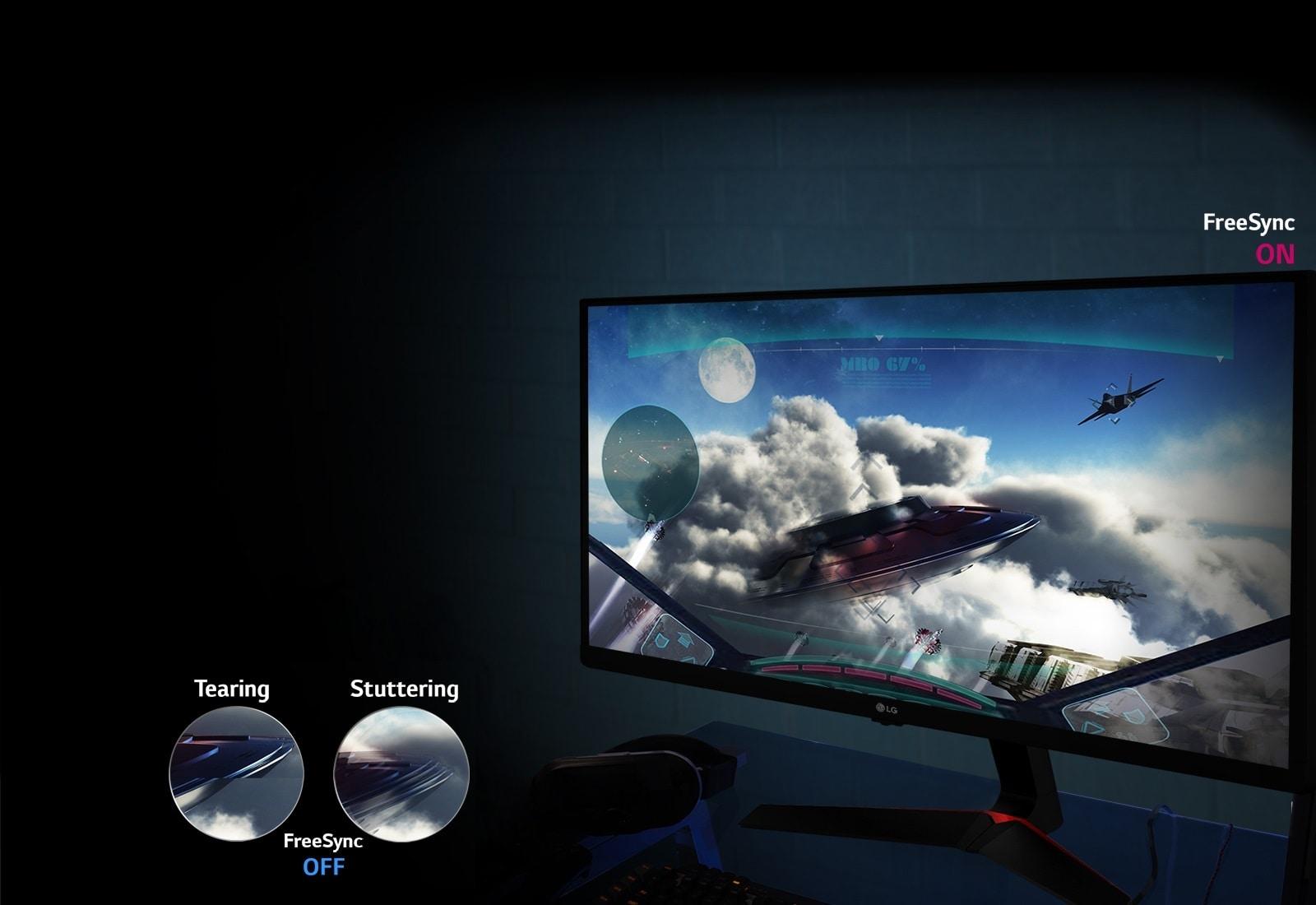 Tečni prikaz pokreta: tehnologija AMD FreeSync™1