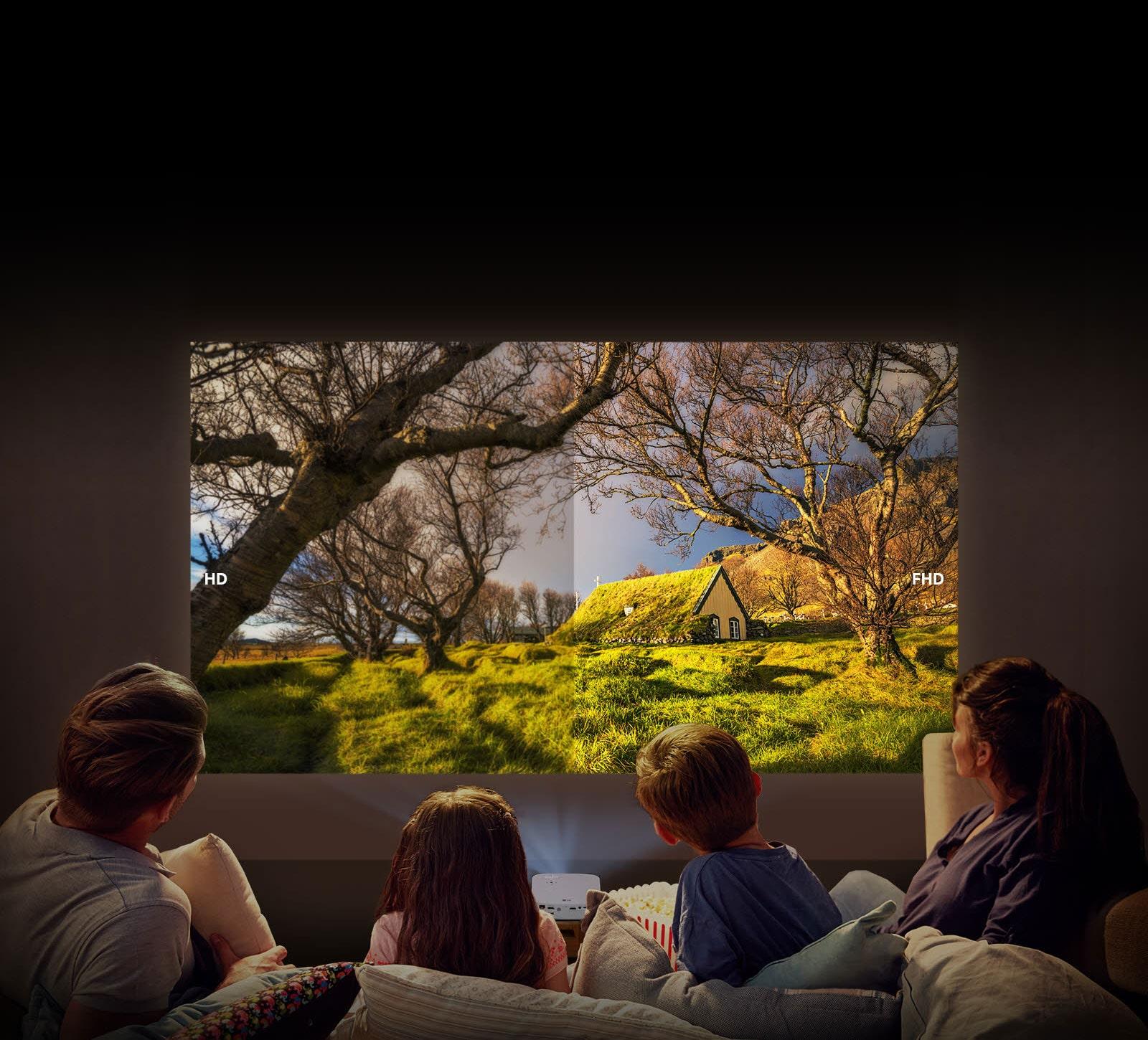 Doživite nevjerojatnu Full HD razlučivost1