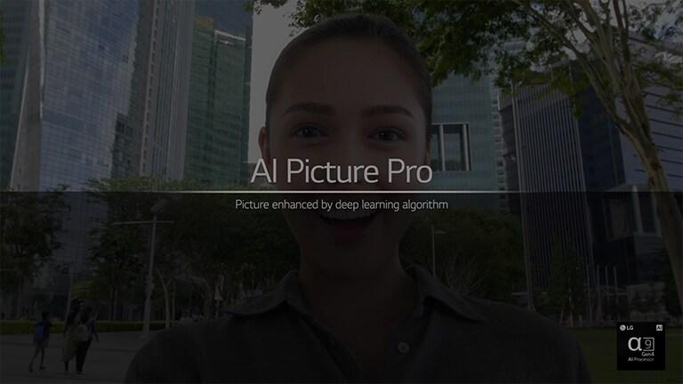 To je video o tehnologiji AI Picture Pro. Za predvajanje videoposnetka kliknite gumb »Ogled celotnega videoposnetka«.