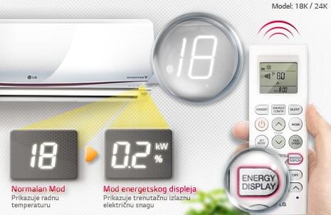 Pokazivač potrošnje energije