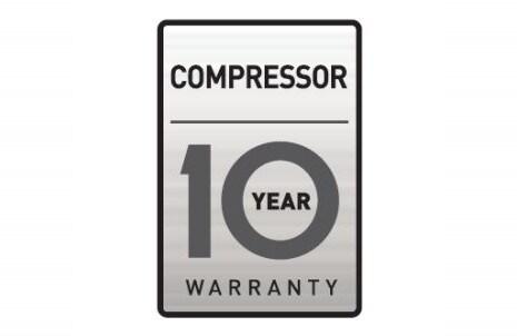 10 godina jamstva na kompressor