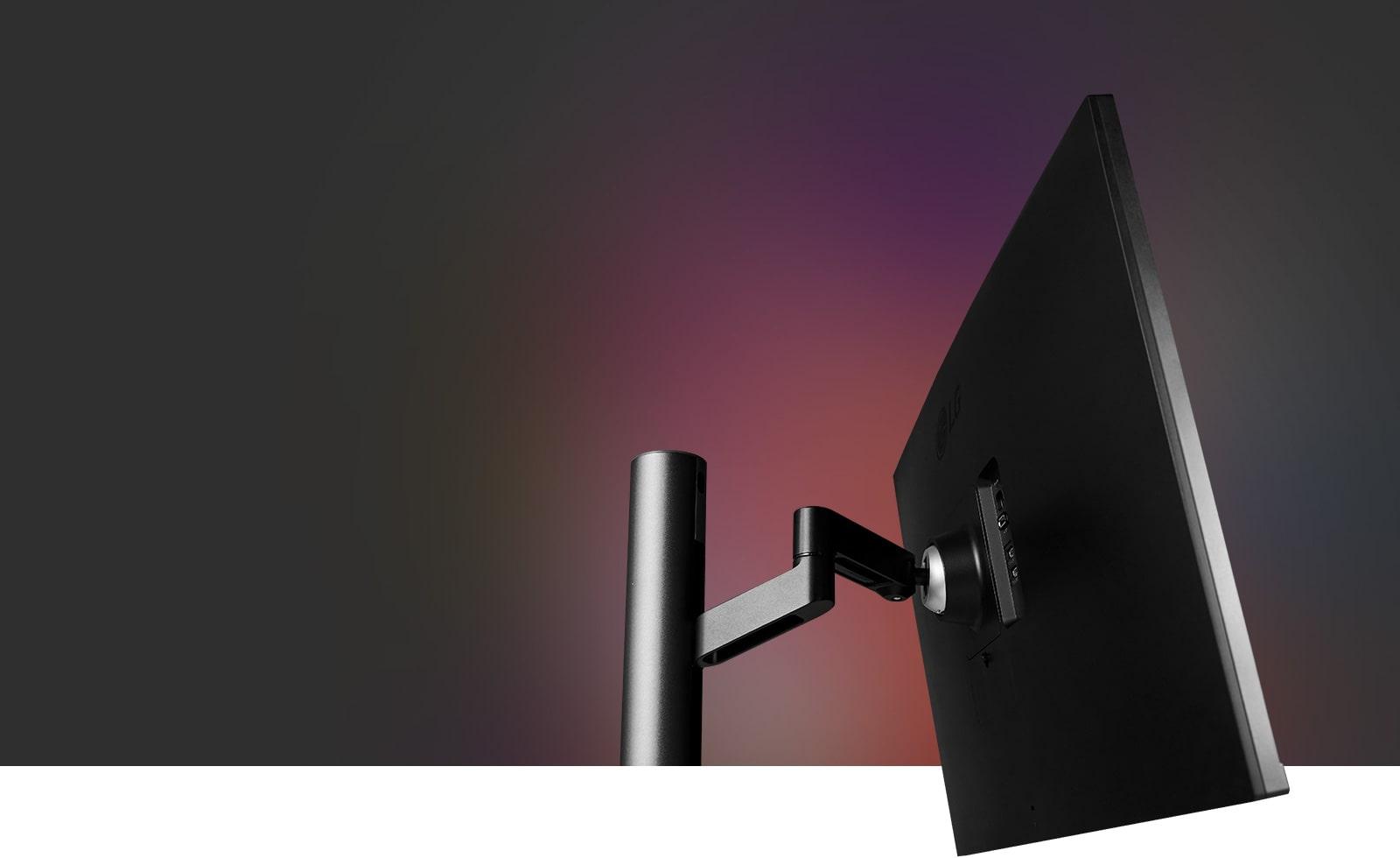 Ergonomski stalak, potpuna pokretljivost zaslona, savršeno prati razinu vaših očiju