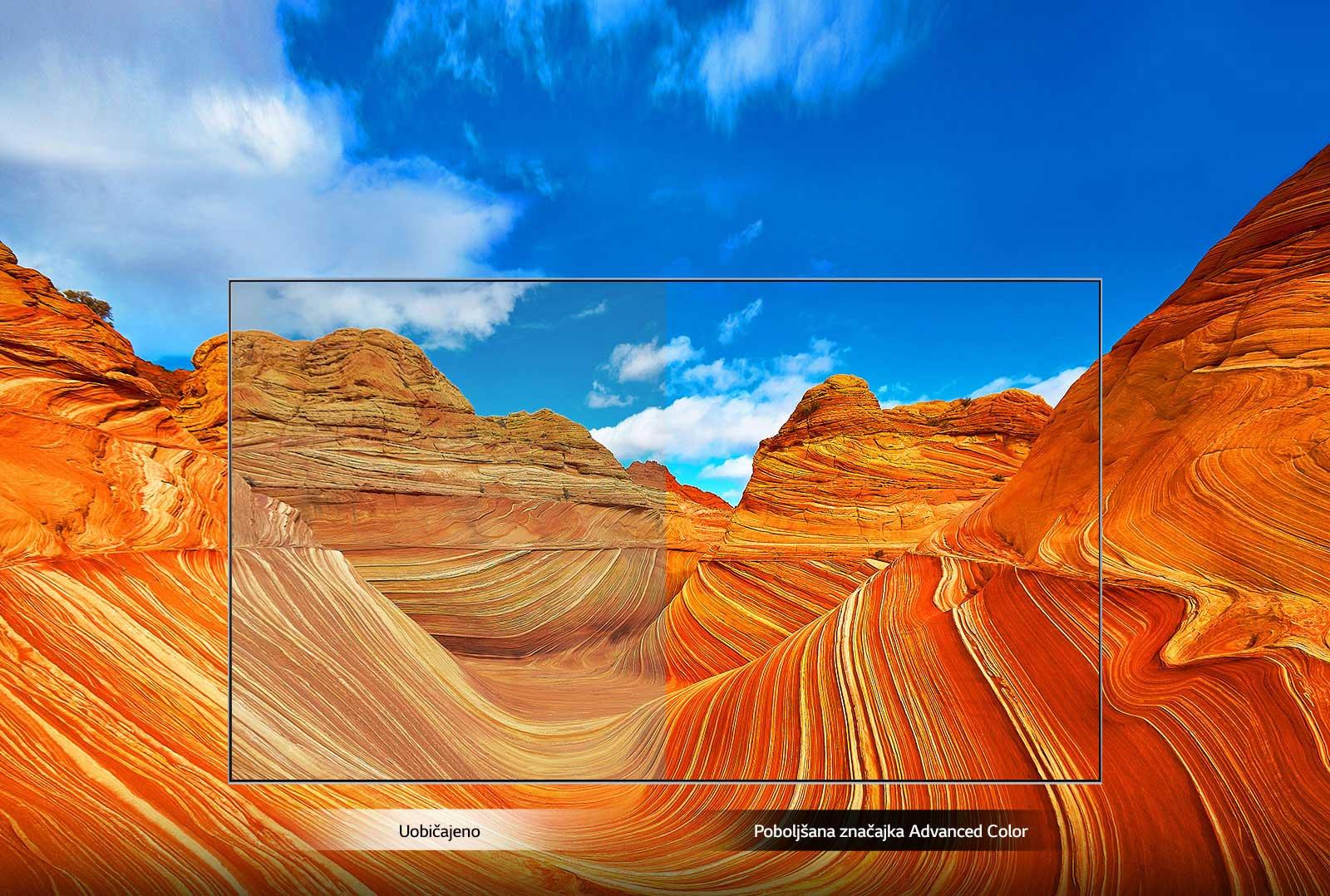 Izboljšana funkcija Advanced Color1