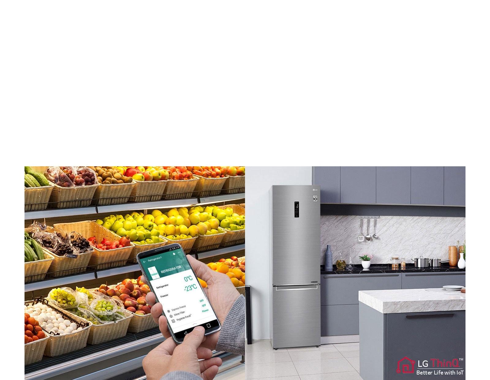 A hűtő beállításai távolról is módosíthatók3