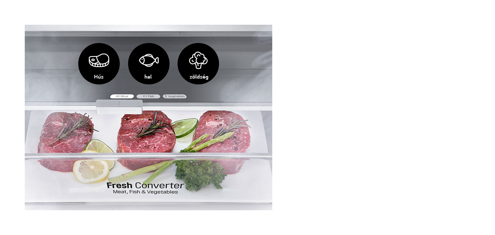 Válassza ki az optimális hőméréskletet ételeinek1