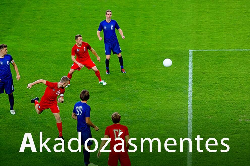"""Jelenet hat focizó játékossal """"Akadozásmentes"""" címmel"""