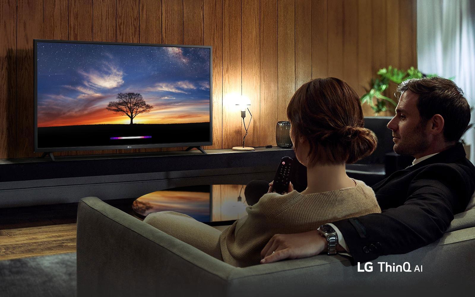 Élje meg a csodákat az LG AI TV-vel1