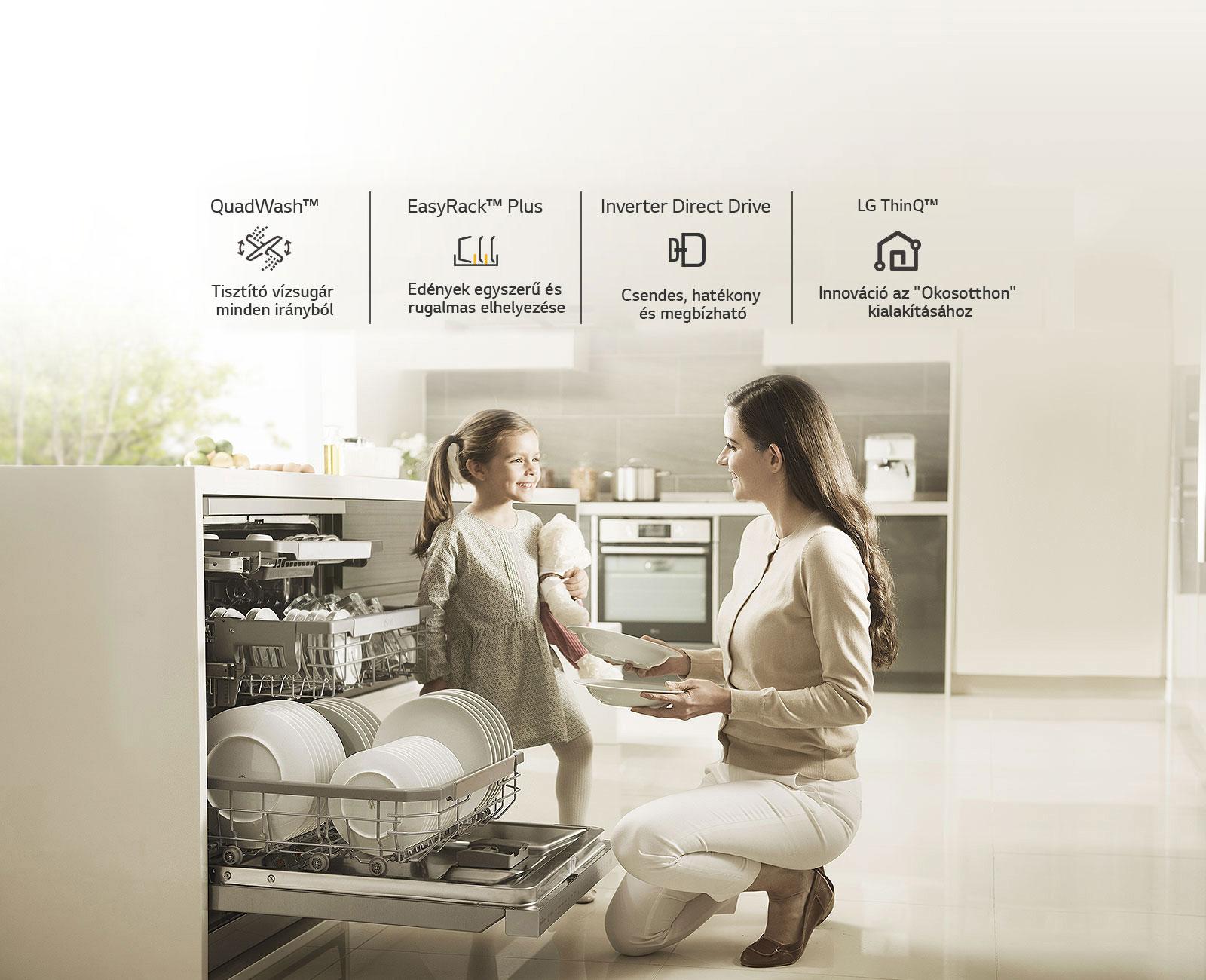 Miért LG mosogatógépet válasszon?1