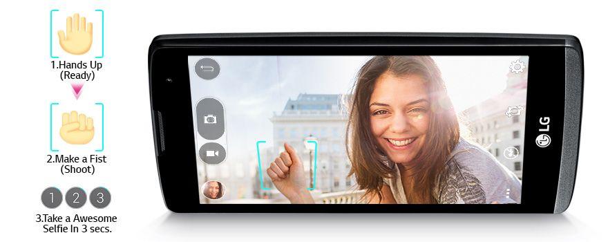 Gesture Shot - Selfie készítés egyetlen kézmozdulattal