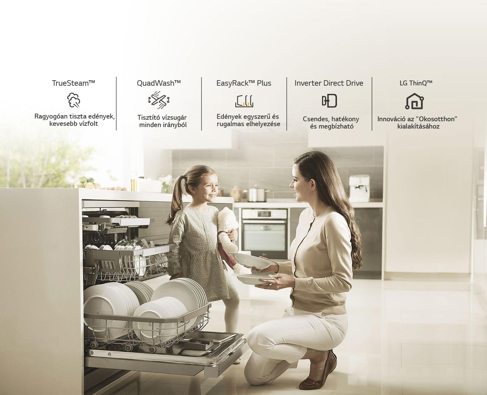 Miért LG mosogatógépet válasszon?
