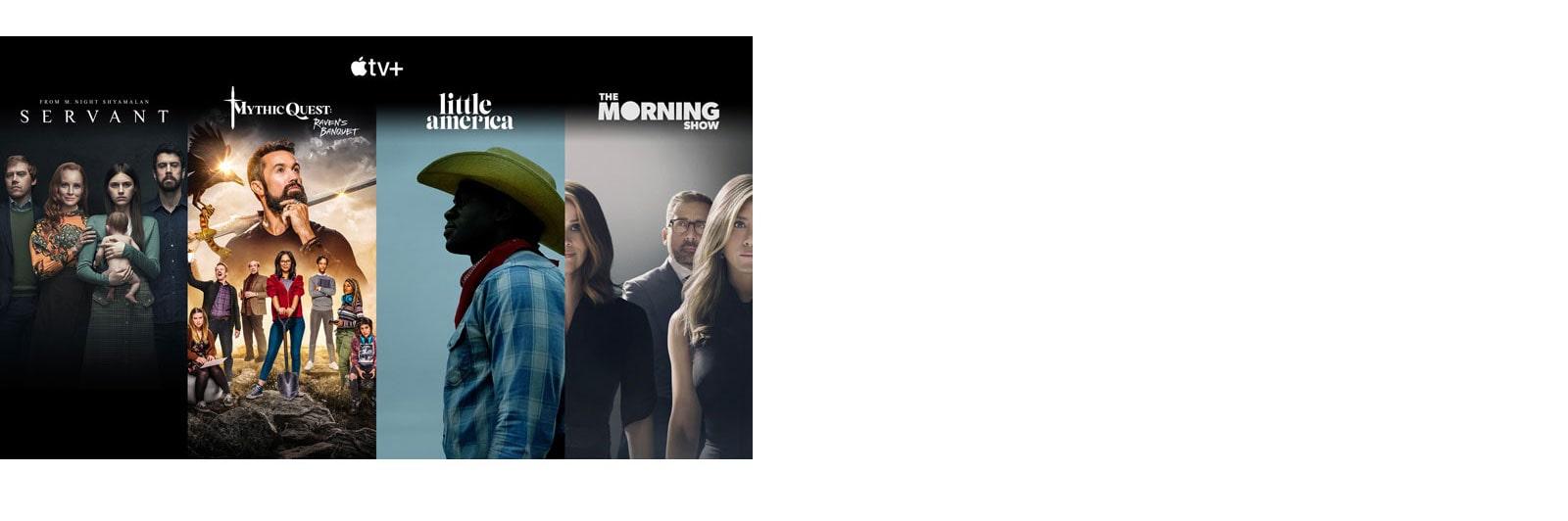 Apple TV+ legjobb 4 műsorának miniatűrjei