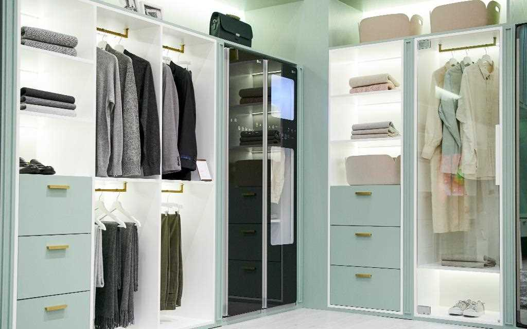 LG had a special home in store for visitors at IFA 2019 - with a smart ThinQ home and a dream wardrobe | More at LG MAGAZINE