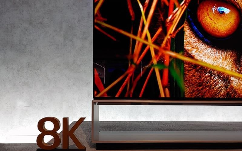 The LG 8K TV lineup was on display at IFA 2019, showcasing stunning picture quality and innovative features | More at LG MAGAZINE