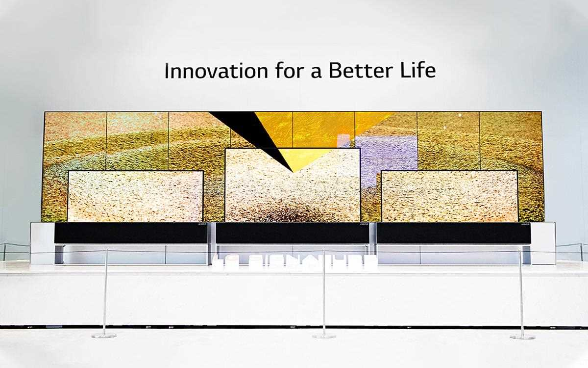 The LG SIGNATURE OLED TV R was on display at IFA 2019, showcasing stunning picture quality and innovative features | More at LG MAGAZINE