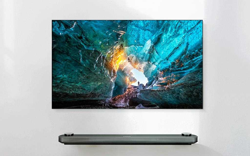 The LG SIGNATURE OLED TV W7 Television - The world's thinnest TV.