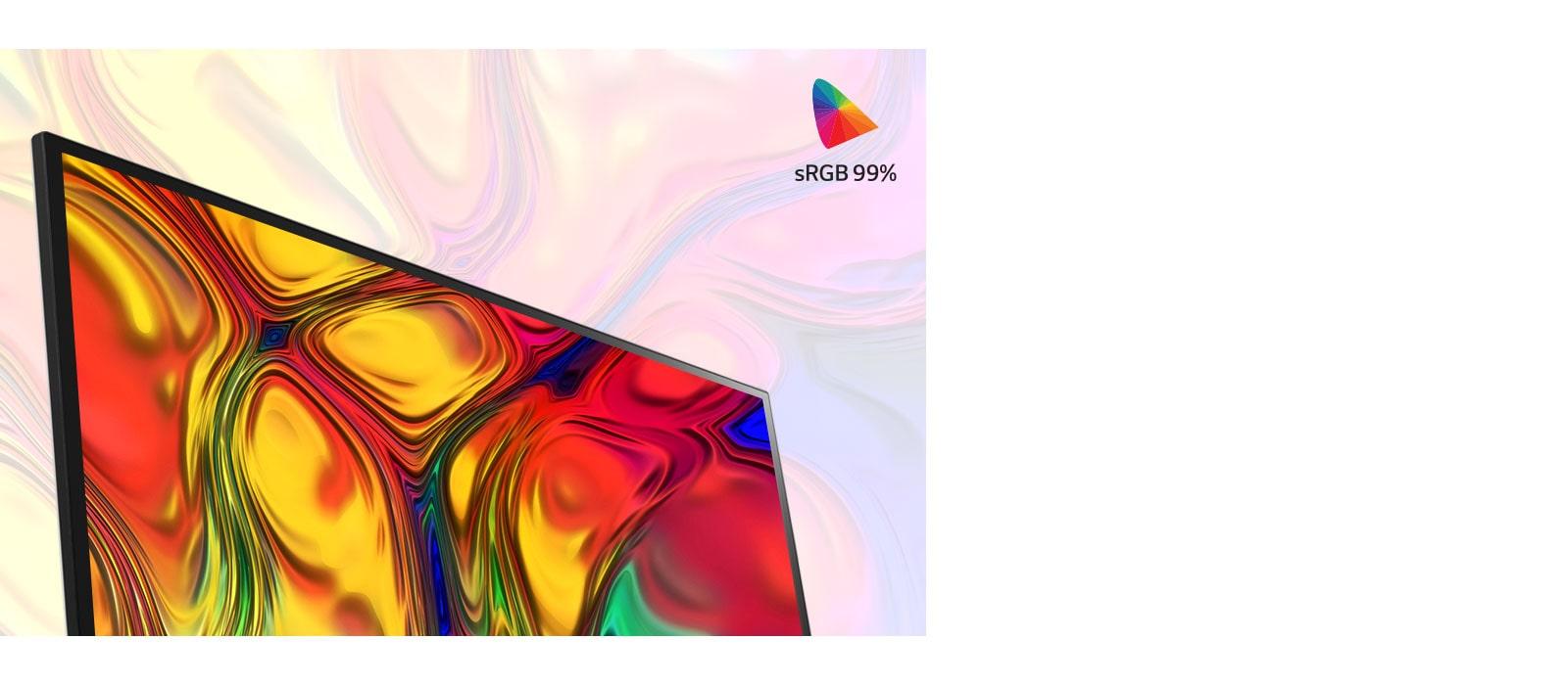 IPS dengan sRGB 99% (Biasa)1