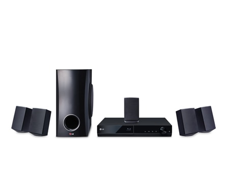 LG 3D 5.1ch Blu-ray(tm) Home theater with Smart TV 1