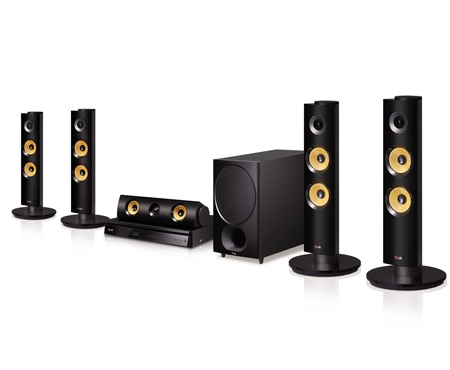 LG Home Theater System BH6340H 1
