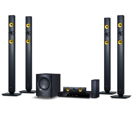 LG 3D 5.1ch Blu-ray(TM) Home theater with Smart 1