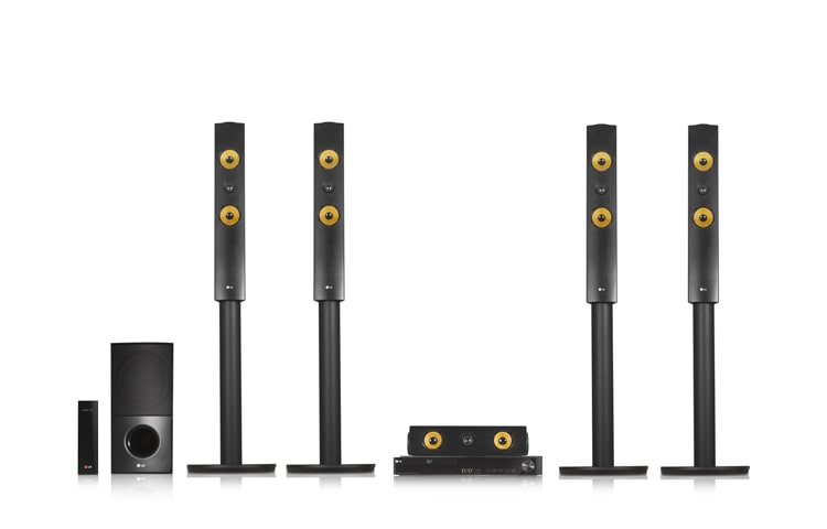LG Home Theater System LHB755W thumbnail 2