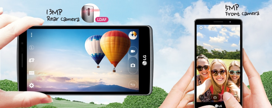 13MP LDAF + 5MP Front Camera