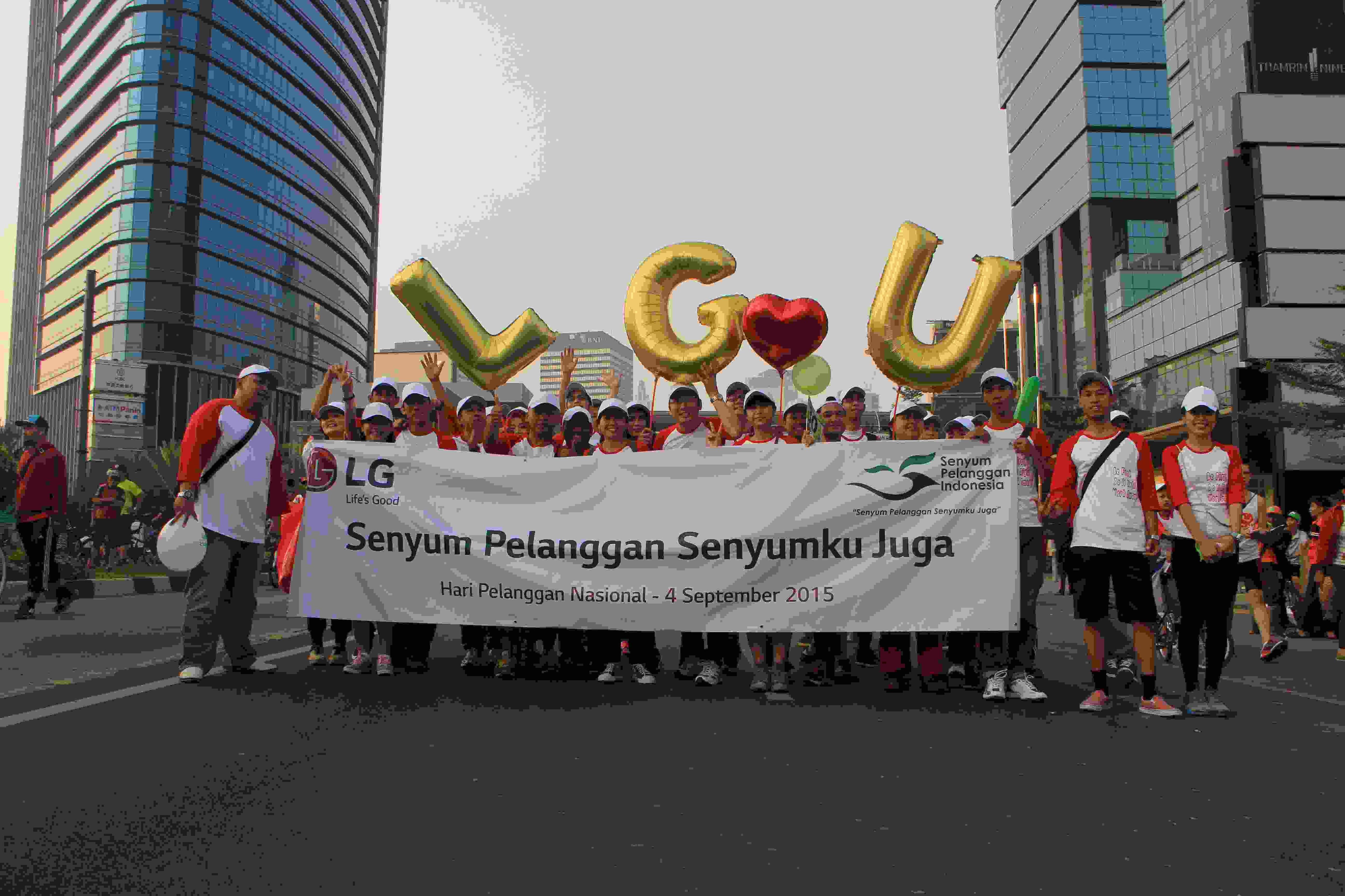 Dengan mengusung tema LG Love U di HarPelNas, LG Electronics akan ...